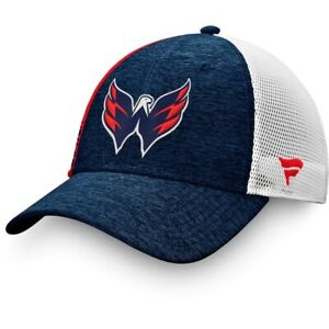 2021 Washington Capitals NHL Authentic Locker Room Trucker Snapback Cap Hat