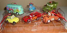 NEW Disney Cars Christmas Ornament Figure 6pc Lightning McQueen FREE SHIPPING