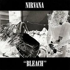 "Nirvana ""Bleach"" Deluxe 20th Ann. Double Vinyl LP Record & D/L (New & Sealed)"