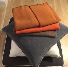 Zoeppritz Soft-Fleece Kuschel Kissen Hülle 50x50cm col.855 orangebraun NEU