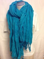 Echo Design Large Pashmina Scarf 246278 Teal 443   New W/ Tags