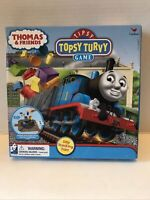 Thomas And Friends Train Tipsy Topsy Turvy Board Game Silly Stacking  Complete