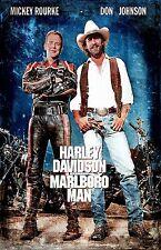 Harley Davidson and the Marlboro Man poster (b) : 11 x 17 inches : Mickey Rourke