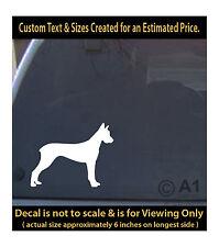 great dane dog 6 inch decal pet lover man best friend car laptop more swp1_51b