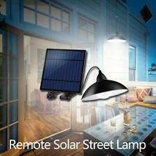 12LED Solar Street Light Chandelier Remote Control Garden Lawn Floodlight