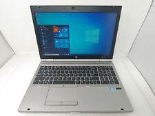 HP EliteBook 8570p Laptop Core i7 3520M 2.9GHz 8GB 500GB HDD White Spots Bad USB