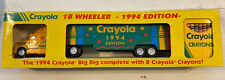 CRAYOLA 18 WHEELER BIG RIG 1994 EDITION DIE-CAST WITH CRAYONS IN BOX