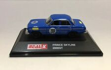 1/72 Real-X PRINCE SKYLINE 2000GT RACING #39 Diecast Car Model