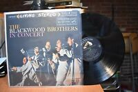 The Blackwood Brothers in Concert LP RCA LSP-2137 Stereo