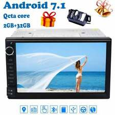 "Double Din 7""Android 7.1 8Core Car Stereo GPS Head Unit WIFI 2GB RAM No-DVD Navi"