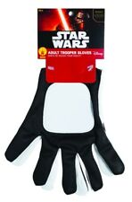 Star Wars Trooper Adult Gloves Mens Stormtrooper Halloween Costume Accessory