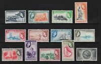 Barbados 1953 set, mint, cat. $ 72.25