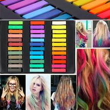 36 Colours Temporary Hair Colour Dye Chalk Pastels Set Kit for Men Women