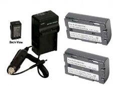 2 Batteries + Charger for Panasonic AG-DVC7 AG-DVC10 AG-DVC30 AG-DVC60 AG-DVC80