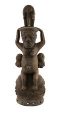 STATUE AFRICAINE KUYU KOUYOU  MATERNITE CONGO ART TRIBAL PRIMITIF AFRICAIN 903