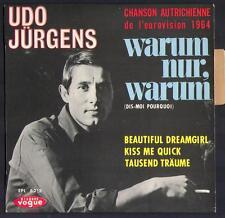 """EUROVISION 45T EP UDO JÜRGENS """"Warum nur warum"""" AUTRICHE EUROVISION 1964"""