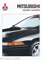 Mitsubishi Eclipse Zubehör Prospekt 10/92 brochure 1992 Autoprospekt Broschüre