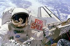 Poster Photo Nasa Planète Terre Navette Discovery Satellite à vendre For sale