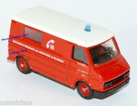 Camion de pompier CITROEN C35 SOLIDO fire truck lastkraftwagen von Feuerwehrmann