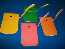 Lot Set of 4 Colors Universal Smart iPhone Pouch / Wristlet  *New w/o Tags*