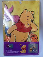 4 Pc. Winnie The Pooh Wall Hangings Room Decor Set Tigger Eeyore Piglet Nursery