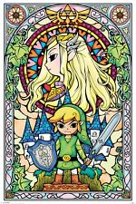 The Legend of Zelda (Glasmalerei) PP33735 Maxi Poster 61cm x 91.5cm