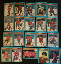 MONTREAL CANADIENS VINTAGE CARD LOT OF 20 GRETZKY first year NHL 1979 O-PEE-CHEE