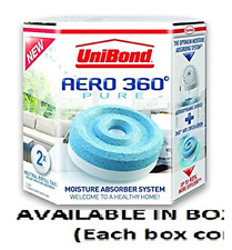 UniBond Aero 360 Moisture Absorber Refills, Pack of 2 (2 BOXES) by Unibond