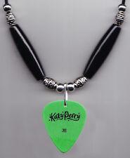 Katy Perry Signature Green Guitar Pick Necklace - 2011 California Dreams Tour