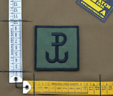 """Ricamata / Embroidered Patch """"Grom"""" OD with VELCRO® brand hook"""