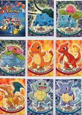 Complete Topps Pokemon Series 1 - Set of 90 New Blue Logo TV Animation cards!