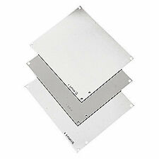 HOFFMAN Steel Interior Panel,White,4.25in.Hx4.25in.W, A6N6P
