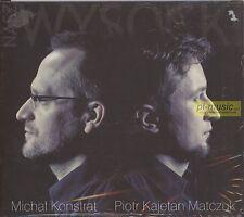 = NASZ WYSOCKI - MICHAL KONSTRAT & PIOTR KAJETAN MATCZUK / CD sealed