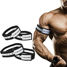 Bands Training Resistance Exercise Blood Flow Restri 00002716 ction Arm and Leg Band 4Pack