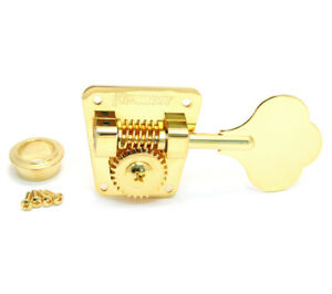 (4) Hipshot HB2 Gold American Classic Tuners for 70s Fender P/Jazz® Bass