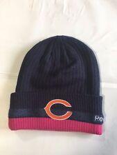 Chicago Bears Knit Beanie Winter Hat Toque Skull Cap NEW BCA Cuffed Women's