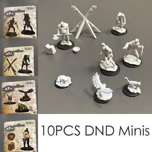 8x Wizkids Deep Cuts Bandits Familiars Executioner Torture Cross DND Miniatures