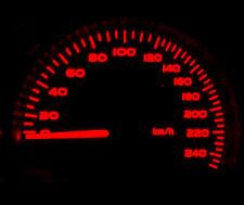 Red LED Dash Speedo Kit Lighting Set Replacement Part Renault 5 R5 Gt Turbo