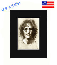 John Lennon 8x10 matted Art Print Poster Decor picture Gift Photograph Display
