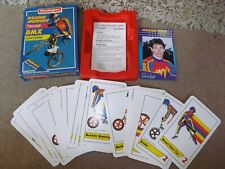 RALEIGH BURNER BMX FREESTYLE CARD GAME - WADDINGTONS - 1985 VINTAGE