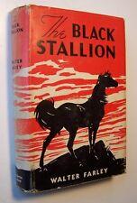 THE BLACK STALLION Walter Farley HC/DJ First Printing ILLUS Keith Ward - J