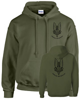 SAS,BRITISH SPECIAL FORCES HOODIE,ARMY, MILITARY GREEN,AIRSOFT, WAR ,T-SHIRT