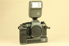 MINT- Contax 159mm 10th Anniversary Edition 35mm SLR Film Camera w/ winder
