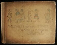 CHILDREN OF OUR TOWN Mars, Squire, Wells 1902 Poetry Hand-colored Litho Plates