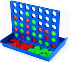 Vier in einer Reihe 4 gewinnt Mini- Spiel Reisespiel ca. 15 cm x 10 cm x 2,5 cm