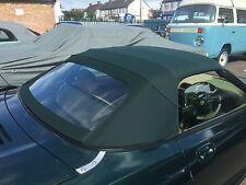 MGF & MGTF  Mk1/2 Green Mohair Hood & Plastic Window Section
