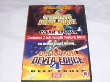 Delta Force 3: Clear Target & Delta DVD  Jim Fitzpatrick and Johhny Messner New