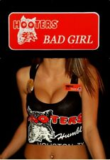 Bad Girl Hooters Girl Uniform Name Tag Pin Halloween Costume Accessory