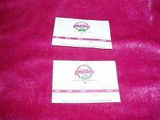 """VTG, Set of 2, """"PHILLIES VS. PITTSBURGH PIRATES TICKET STUBS"""", July 30th, 1989"""