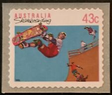 Australia (Scott 1186/1186A) - 1991 - Sports-Skateboarding - Self-Adhesive - Mnh